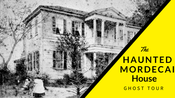 Haunted Mordecai House Ghost Tour @rebelhearttravel