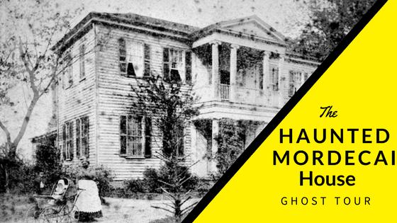 Haunted Mordecai House Ghost Tour @rebelhearttravel