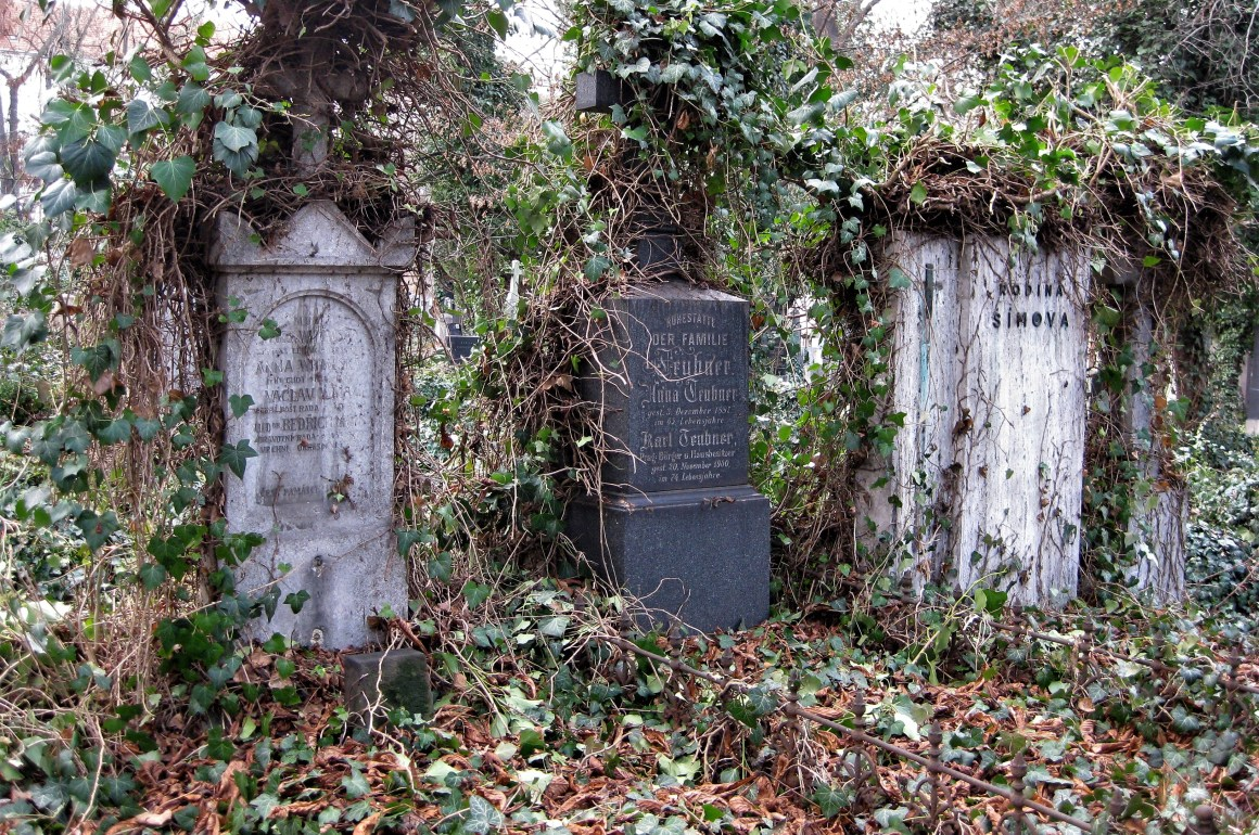 Olsany Cemetery Prague