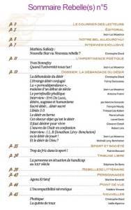 sommaire-rebelles-magazine-n5