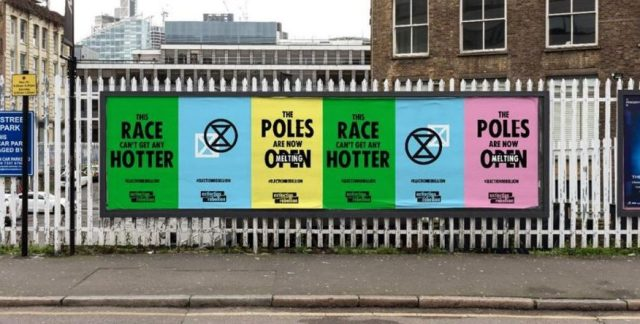 Posters promoting Election Rebellion