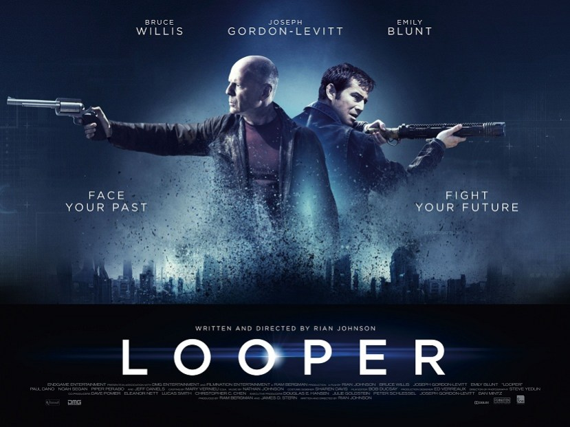 Looper' brings the time travel paradoxes and one-dimensional women -  Rebellious Magazine