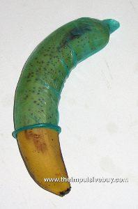 banana with condom