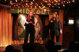 (L:R) Meredith Kachel and Liz Maupin at What a Joke Comedy Fest