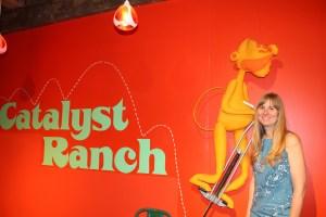 Eva Eva Niewiadomski of Catalyst Ranch