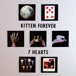 Kitten Forever 7 Hearts