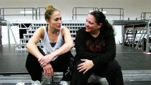 Liz Imperio and Jennifer Lopez