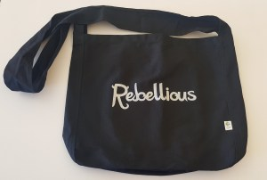 Rebellious Gift Guide tote bag from Ink Forest