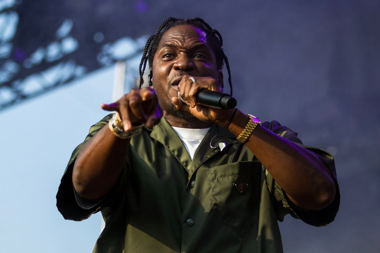 Pusha T performing at Pitchfork Music Festival on Friday, July 19, 2019