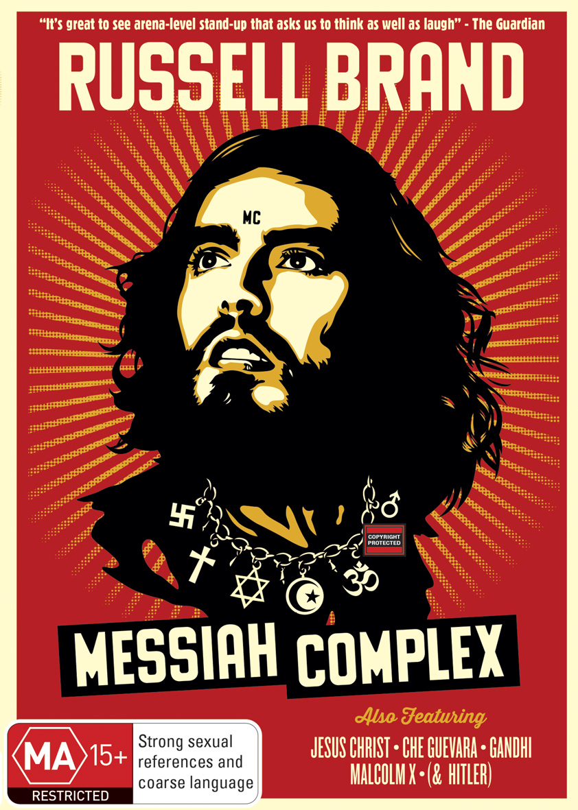 DVD Review: Messiah Complex by Russell Brand