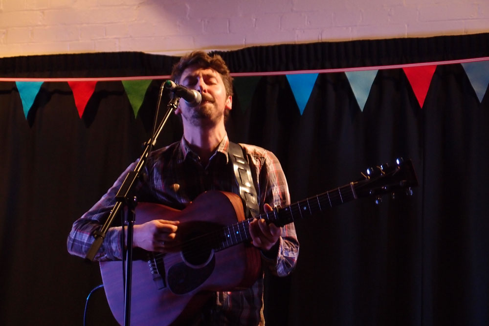 Folk Rising: Karl Culley, Bird Radio and Arlet live @ Cecil Sharp House in London