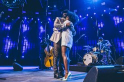 Gregory Porter and Laura MVula Photo © iTunes Festival 2014