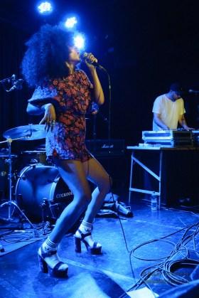 Iris Gold live in London - Photo copyright by Oscar Tornincasa for rebelrebelmusic.com