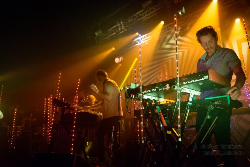 Jaga Jazzist live in London - Photo copyright by Oscar Tornincasa for rebelrebelmusic.com