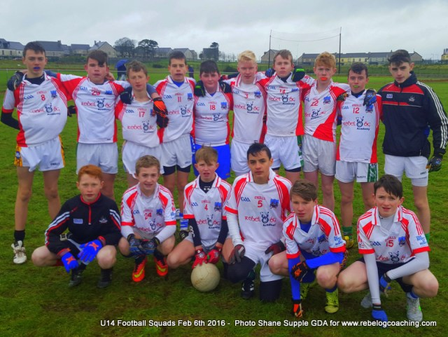 Feb 6 U14 Regional Football Cork