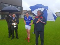 Noel Crowley GPO Thanking everyone on the day