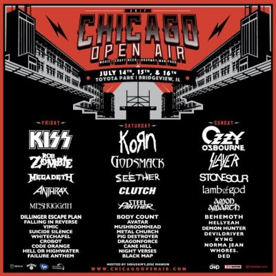 Chicago Open Air Concert Poster