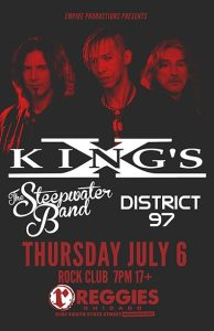 Kings X concert poster