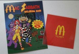 Mac Sabbath's official activity coloring book