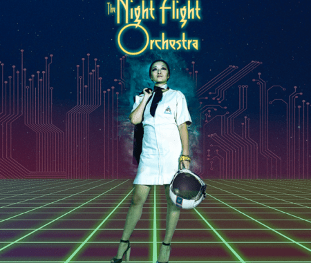 The Night Fight Orchestra - Amber Galactic album cover