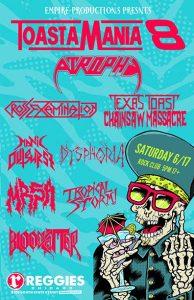 toastamania 8 concert poster