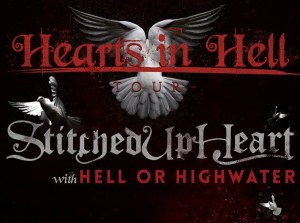 Hearts In Hell Tour Poster
