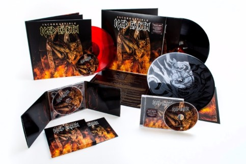 Incorruptible - Iced Earth gear