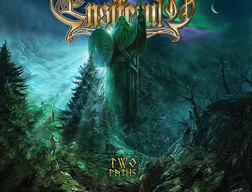 "Ensiferum album cover for ""Two Paths"""