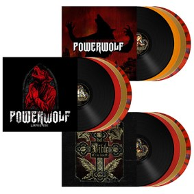 Powerwolf 3 albums on Vinyl