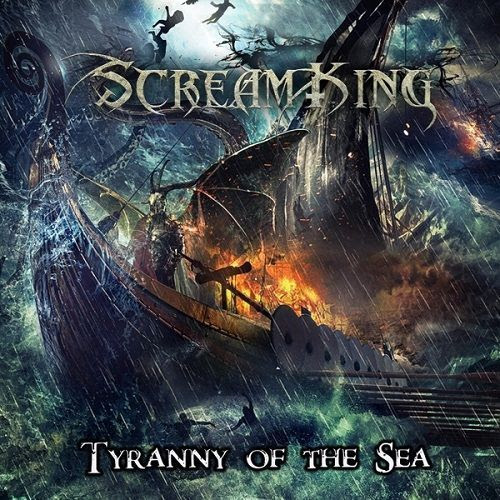 "Scream King ""Tyranny of the Sea"" album cover"