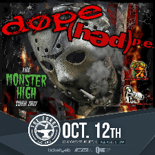 Dope and Hed Pe tour poster