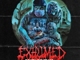 "Exhumed album cover for ""Death Revenge"""