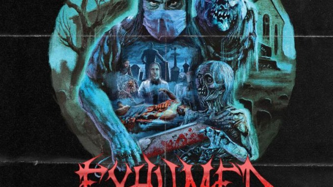 "Exhumed album cover for ""Death Revenge"""