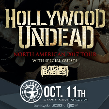 Hollywood Undead concert poster