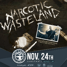 Narcotic Wasteland tour poster