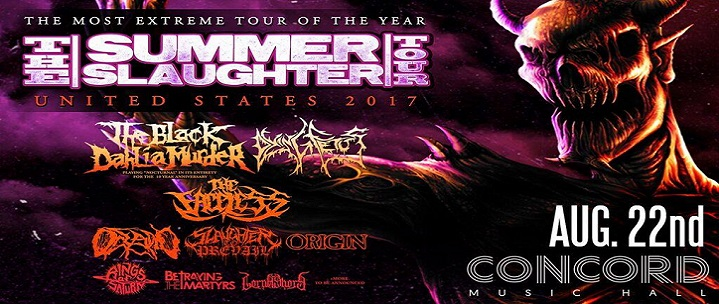 Summer Slaughter – Header Banner