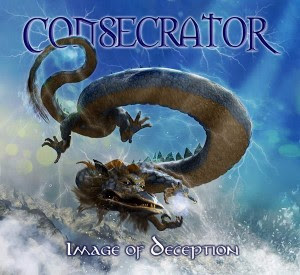 "Consecrator - album cover for ""Image of Deception"" reissue"