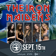iron maidens concert poster