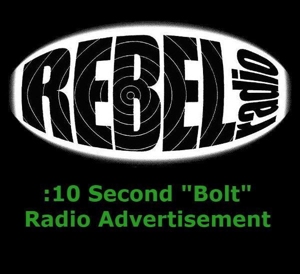 10 second Bolt radio ad