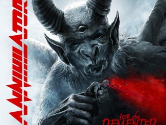 """Annihilator album cover to """"For the Demented"""""""
