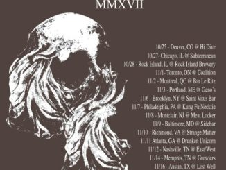 Bell Witch tour poster