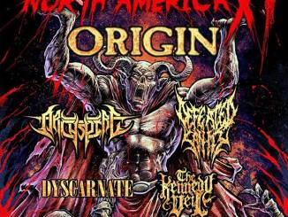 Origin, headlining the Bloodletting Tour XI