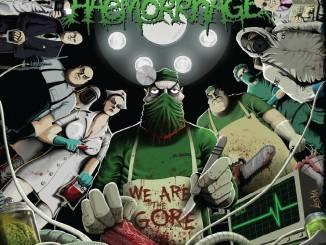 Haemorrhage, We Are Gore album cover