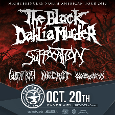 The Black Dahlia Murder tour