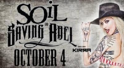Soil concert poster