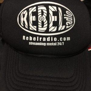 Rebel Radio Trucker Hat, front