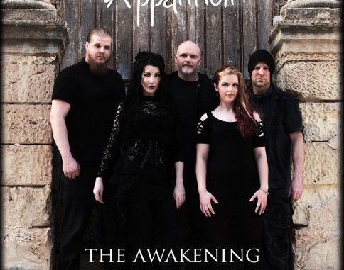 "Apparition album cover for ""Break the Chains"""