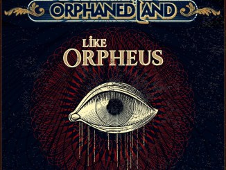 "Orphaned Land, album cover for ""Unsung Prophets & Dead Messiahs"", featuring ""We Do Not Resist"""