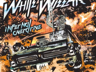 White Wizzard album cover for Infernal Overdrive