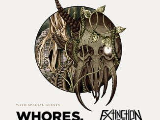 Darkest Hour, Whores., Extinction A.D., and Dead Where I Stand at Reggies Thursday, Feb. 22, 2018